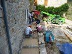 Aménagement d'une allée HYDROWAY® à Gluiras (Ardèche) en 2009