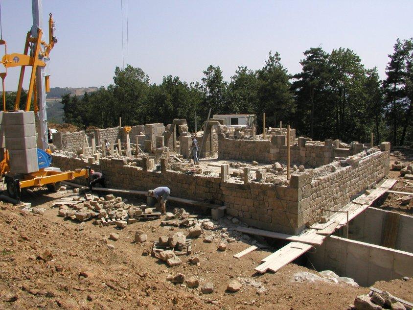 Construire maison en pierre gallery of plan de travail - Construire maison en pierre ...