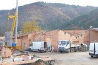 Construction d'un groupe scolaire et d'une crèche aux Ollières sur Eyrieux (Ardèche) en 2009