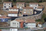Construction de la gendarmerie et des logements de St Pierreville  (Ardèche) en brique de terre cuite R20 en 2008