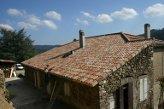 Restauration de toiture - Dunière (Ardèche) en 2005
