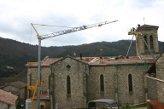 Restauration de la toiture de l'église des Ollières sur Eyrieux (Ardèche) en 2007