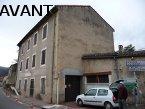 Restauration de façade aux Ollières sur Eyrieux (Ardèche) en 2010 - Avant travaux